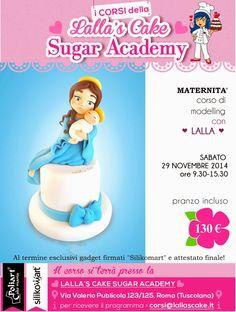 Lalla's Cake - sugar art & cake design: CORSI di Cake Design