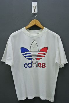 Adidas Crop Top grande taille Vintage Adidas T Shirt par neverfull