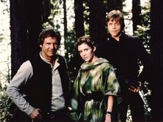 "I often hear people say, ""Oh....is the best trio!"" Well, I must say, I like a lot of trios. But there is no one better than these three: Luke Skywalker, Han Solo, and Princess Leia."