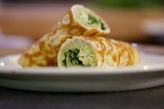 Wrap van Omelet met Heilbot, Avocado & Appel (DK)