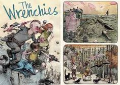 The Wrenchies, Farel Dalrymple