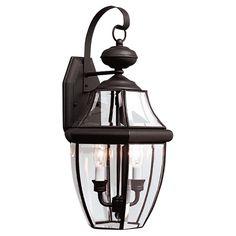 Classic 2 Light Wall Lantern