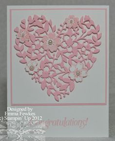 This pretty heart is a must-have from the Occasions Mini. Useful for many, many occasions. Engagement, Wedding, New baby ..... more details can be found [url=http://ladynthestamp.blogspot.com/2016/01/happy-2016.html]here[/url].