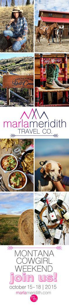 Marla Meridith's Montana Cowgirl Weekend