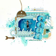 Sharing a gorgeous layout created by our talented using the goodies in our . Scrapbooking Layouts, Scrapbook Pages, Travel Smash Book, Hip Kit Club, Photo Layouts, Studio Calico, Christen, Layout Inspiration, Scrapbooks