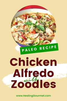 Looking for a creamy chicken alfredo just as delicious as the original… but without the dairy and carbs? Read on!