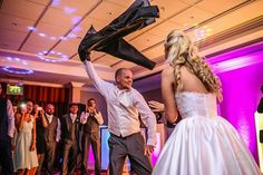 I think it's fair to say this Groom took his First Dance to another level #firstdance #dancefloor #groomstyle #dancing #dancers #NRP #neilridleyphotography #fearless #bridebook #bride #groom #weddinghair #bridalhair #weddingstyle #weddingparty #eveningcelebrations #moments