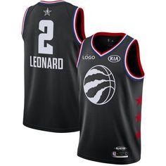 48e6b2c0d8a 2019 Adult  2 Leonard All Stars Game Basketball Jersey Black
