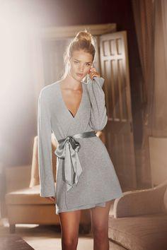 Rosie Huntington Whiteley Interview - M&S Autograph Underwear Collection (Vogue.com UK)