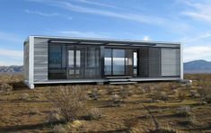 Modern Sustainable Pre-Fab Houses Fit In A Shipping Container
