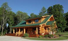 Stunning Log Homes designed by Pioneer Log Homes of British Columbia