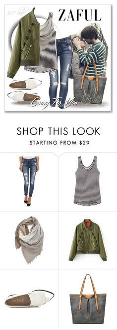 """""""you & me ÷ nothing"""" by jamie-lea-wellik ❤ liked on Polyvore featuring 7 For All Mankind, Rebecca Minkoff, BP. and Sol Sana"""