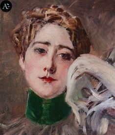 Marthe De Florian Boldini Paintings | Giovanni Boldini, La principessa d'Isenburg-Birsten (1896 ca ...