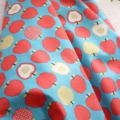 Scandinavian Style Vivid Apples Pattern 20s by luckyshop0228