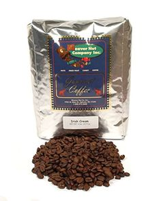 Weaver Nut Cafe Irish Cream Whole Bean Coffee 5 LB * Click image for more details.