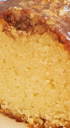 Pecan Pie Bundt Cake.