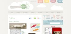 Spearmint Baby - great blog layout and design, love the background and colours used