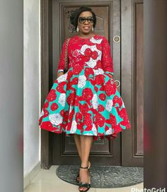 If you are dressing to make an impression, our latest Ankara collection beautifully executed the trends of the season with impeccable personality. The stunning styles are not only eye-catching but… Ankara Short Gown Styles, Trendy Ankara Styles, Short Gowns, Kente Styles, African Inspired Fashion, African Print Fashion, Africa Fashion, Ankara Fashion, African Prints