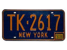 Nummernschild New York