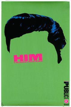 Paula Scher • Him, 1994