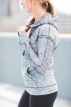 our slimming, sporty, comfortable {Pacesetter Zip Up Hoodie} is BACK!!! buy yours while we have them in stock | @albionfit