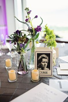 STUDIO DBI - science theme wedding