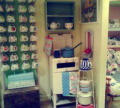 Cath Kidston shop.  I LOVE Cath Kidston!
