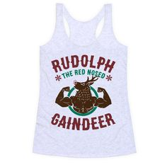 4118cf3ce0737 Rudolph The Red Nosed Gaindeer T-Shirt