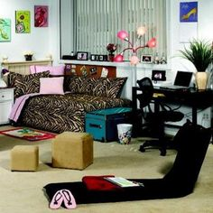 Modern dorm room decorations for