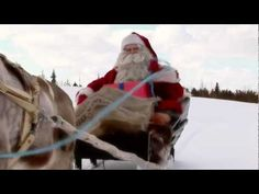 Europe Video Production travel film: Santa Claus Father Christmas in Lapland in Finland video for families - Visit Arctic Circle Santa Claus' Village - Santa. Santa Claus Village, Finland Travel, Lapland Finland, Visit Santa, Arctic Circle, Travel Videos, Father Christmas, Winter, Winter Time