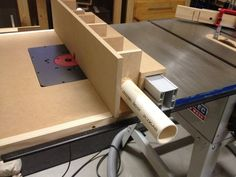 Router table extension wing for table saw - by Warren1971 @ LumberJocks.com ~ woodworking community #tablesaw