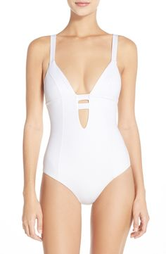 Vitamin A® 'Neutra' One-Piece Swimsuit available at #Nordstrom