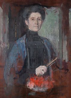 Olga oznanska Self portrait