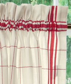 1000 Ideas About Red Kitchen Curtains On Pinterest Kitchen Curtains Red Kitchen Decor And