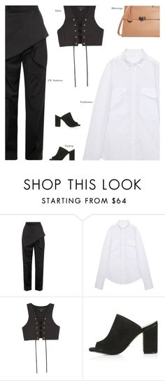 """""""Saturday"""" by amberelb ❤ liked on Polyvore featuring J.W. Anderson, E L L E R Y, Topshop and Balenciaga"""