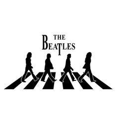 Beatles The Beatles 1, Beatles Party, Beatles Band, Music Silhouette, Beatles Tattoos, 3d Laser, Hippie Art, Abbey Road, Music Love
