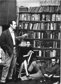 Lawrence Ferlinghetti, Michael McClure (floor) San Francisco Photo by Nat Farbman (The Beat Generation) Beat Generation, Jack Kerouac, E Book, Book Writer, City Lights Bookstore, Wes Wilson, Lawrence Ferlinghetti, Great Poems, San Francisco