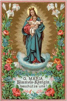 O Mary, Queen of Heaven, protect us!