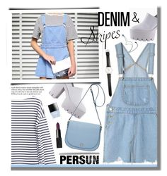 """Denim & Stripes"" by mihreta-m ❤ liked on Polyvore featuring Oroton, Ole Mathiesen, NARS Cosmetics, Rodarte, Butter London and persunmall"