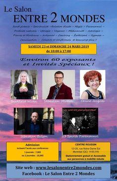 Le Salon Entre 2 Mondes Menu Resto, Paranormal, Coaching, A 17, Concert, Relationship, Astrology, Training