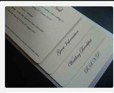 Cheque book invite