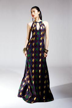Print African Dress Styles | NAANA B LAUNCHES SPRING/SUMMER 2012 CLOTHING COLLECTION