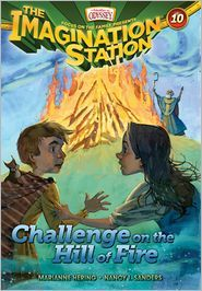 Book review of the brand new Imagination Station Challenge on the Hill of Fire by Marianne Hering and Nancy I. Sanders | I Choose Joy!:  the story tells of the kids meeting St. Patrick