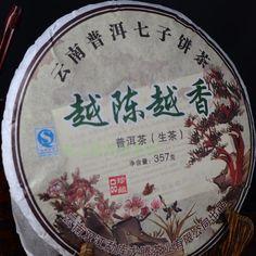 Пу эр чай семь торт 357 чай здоровья обслуживания клиентов
