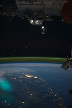 Real, not fiction...observing the Earth from the ISS