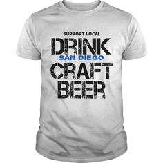 Support your local businesses, drink #beer brewed in San Diego. 100% Printed in the U.S.A - Ship Worldwide. Not sold in stores. Guaranteed safe and secure checkout via: Paypal | VISA | MASTERCARD? | YeahTshirt.com