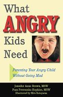 In language parents, caregivers and teachers can understand even when exhausted and frustrated, What Angry Kids Need explains why kids get angry, what anger management skills can be taught, how adults can model anger management techniques—and how adults can cope when nothing seems to work. Authors Jennifer Brown and Pam Hopkins emphasize the importance of patience and practice in developing the ability to handle anger and explain options available when more help is needed.
