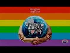Broadway For Orlando perform What The World Needs Now is Love on Maya & Marty at 10pm on NBC. Tune in and be filled with love!  #BroadwayForOrlando #LoveIsLove #OrlandoUnited ❤️