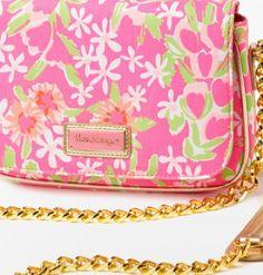 Lilly Pulitzer shoulder purse.