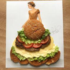 Cheeseburger Bae by Edgar Artis